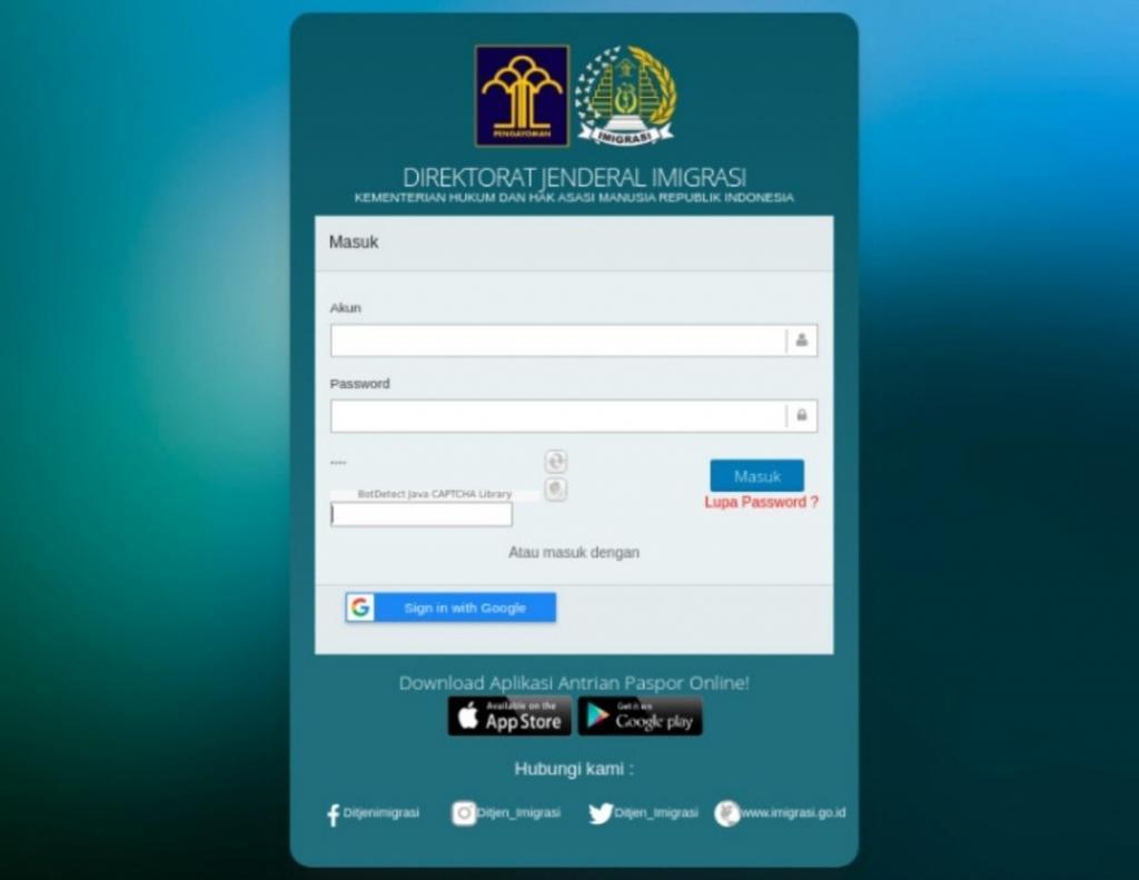 Syarat Buat Paspor Online